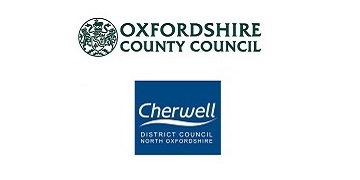 Cherwell District Council & Oxfordshire County Council logo