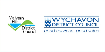 Malvern Hills District Council and Wychavon District Council logo