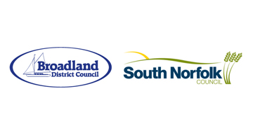 Broadland and South Norfolk logo