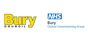 Bury Council and NHS Bury CCG  logo